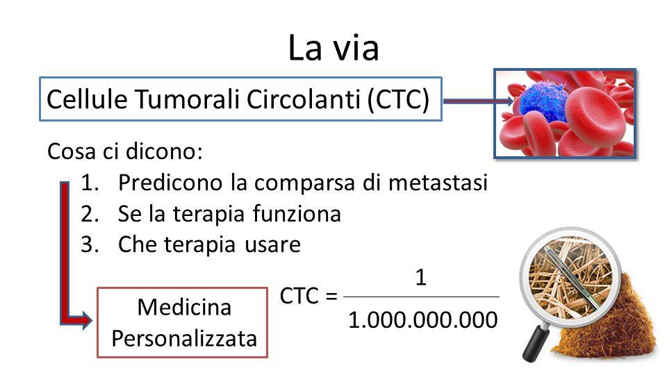 La via Cellule Tumorali Circolanti (CTC) Cosa ci dicono: