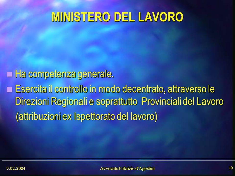 Avvocato Fabrizio d Agostini