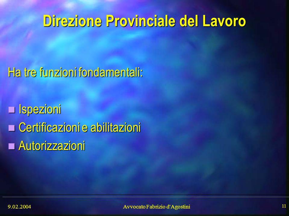 Direzione Provinciale del Lavoro