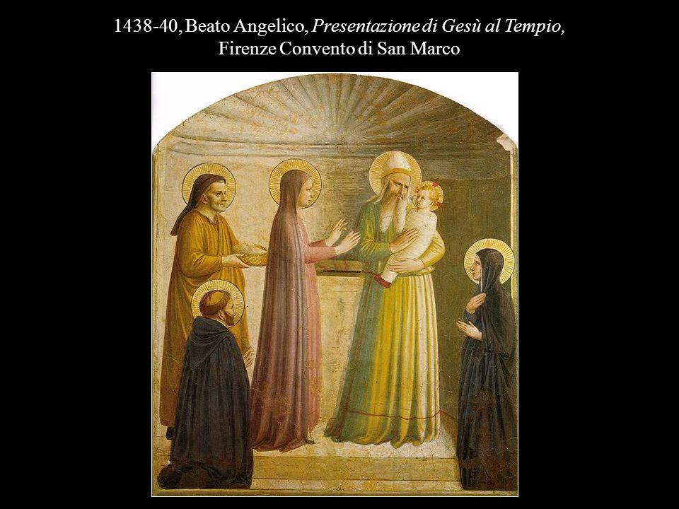 1438-40, Beato Angelico, Presentazione di Gesù al Tempio,