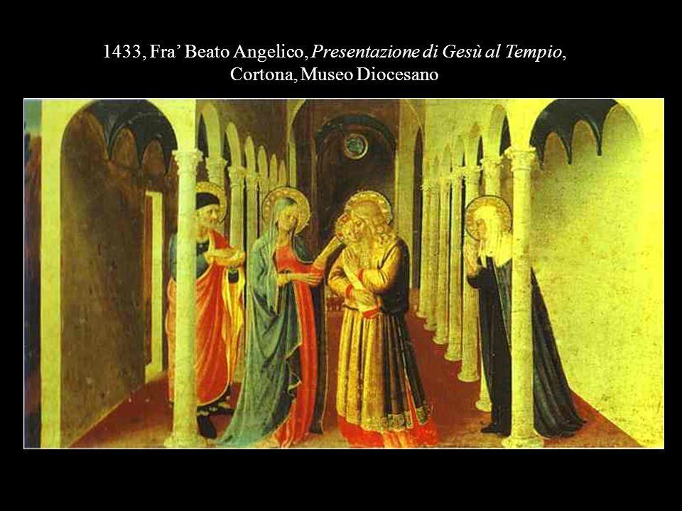 1433, Fra' Beato Angelico, Presentazione di Gesù al Tempio,