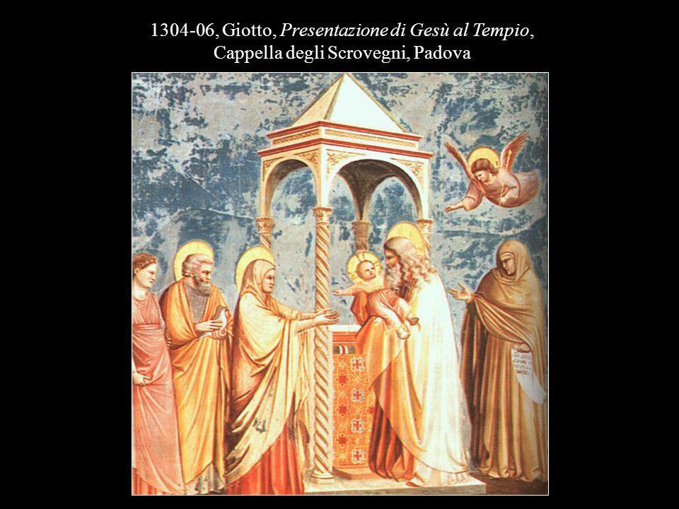 1304-06, Giotto, Presentazione di Gesù al Tempio,
