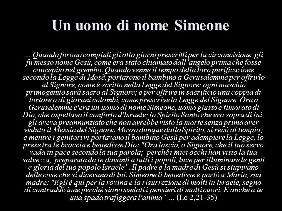 Un uomo di nome Simeone