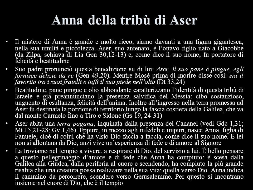 Anna della tribù di Aser