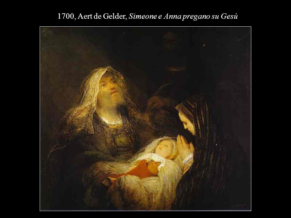 1700, Aert de Gelder, Simeone e Anna pregano su Gesù