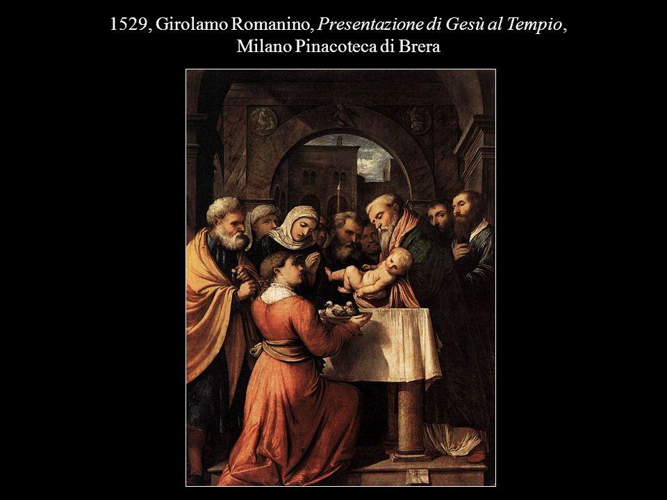 1529, Girolamo Romanino, Presentazione di Gesù al Tempio,