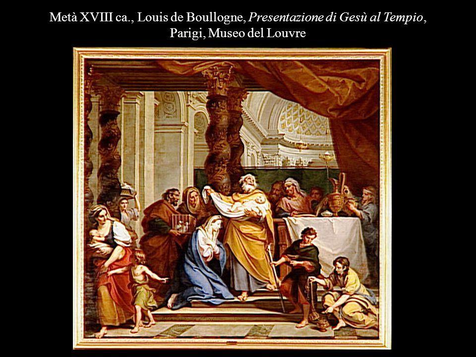 Metà XVIII ca., Louis de Boullogne, Presentazione di Gesù al Tempio,