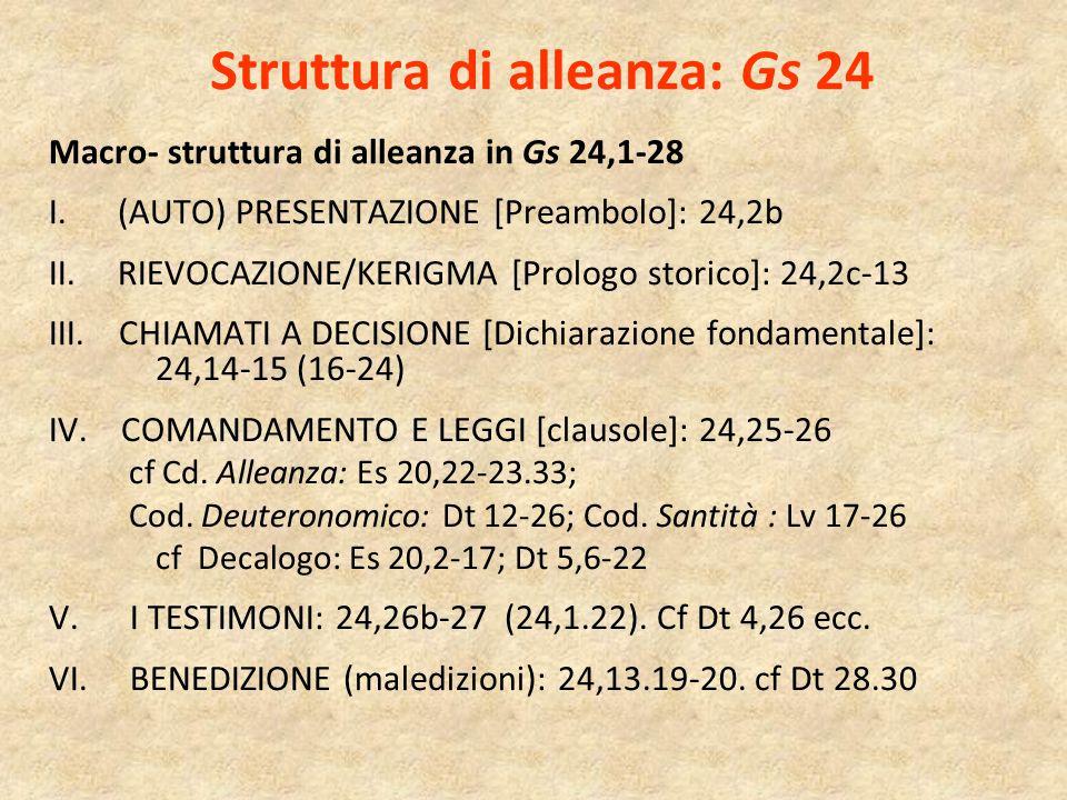 Struttura di alleanza: Gs 24