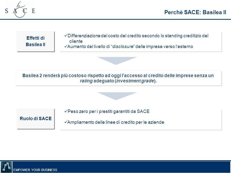 Perchè SACE: Basilea II