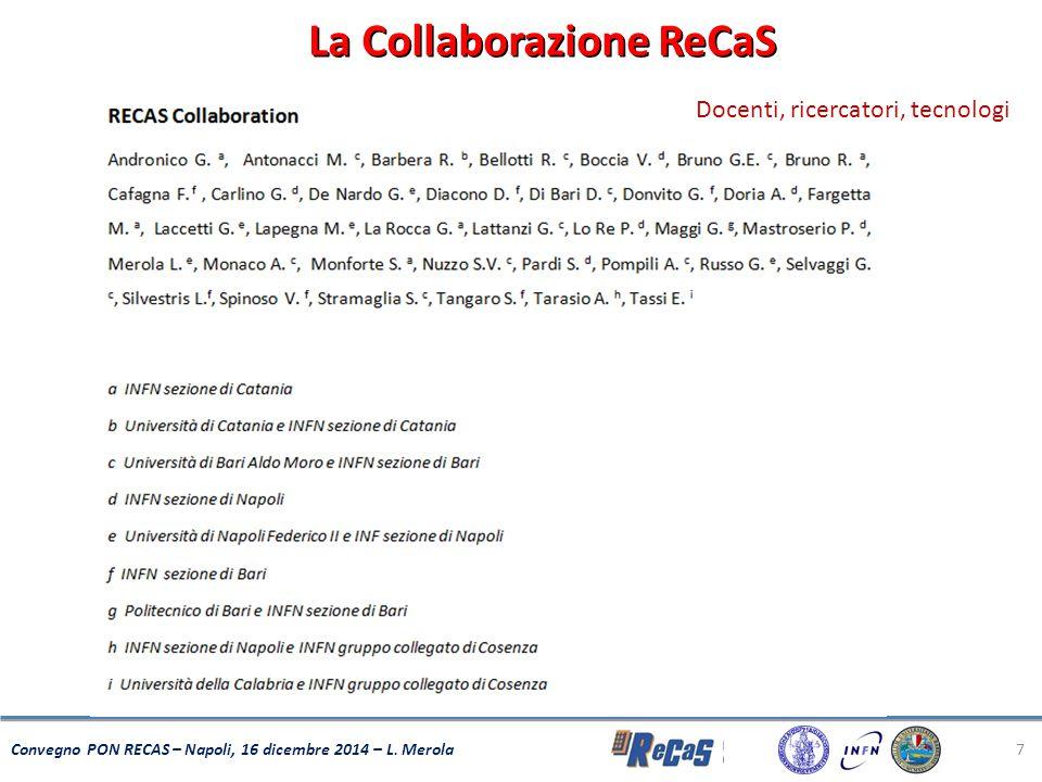La Collaborazione ReCaS