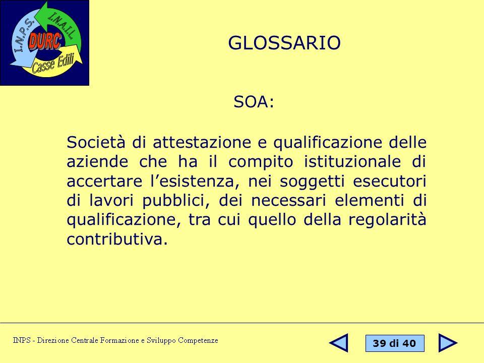 GLOSSARIOSOA: