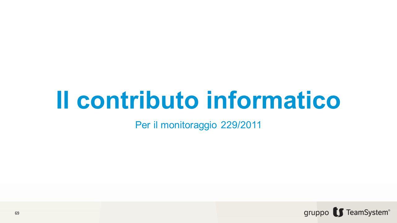 Il contributo informatico