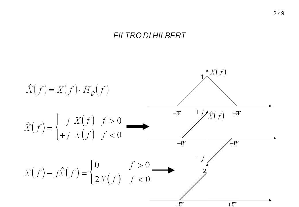 FILTRO DI HILBERT 1 2
