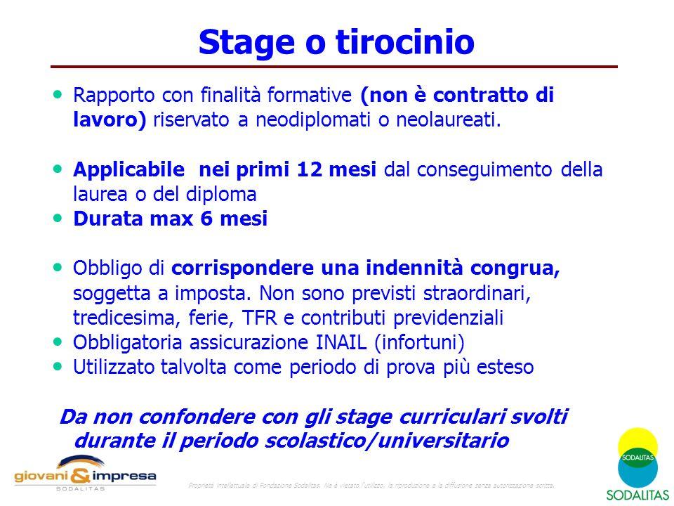 Stage Stage o tirocinio