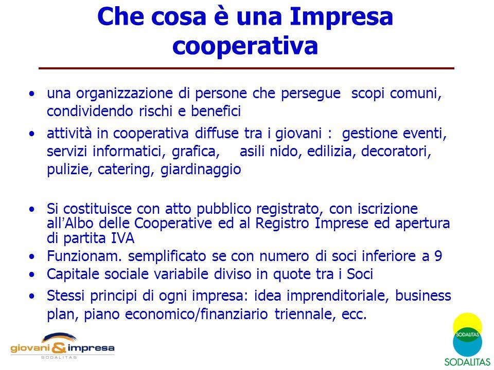 Che cosa è una Impresa cooperativa