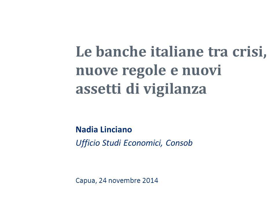 Nadia Linciano Ufficio Studi Economici, Consob