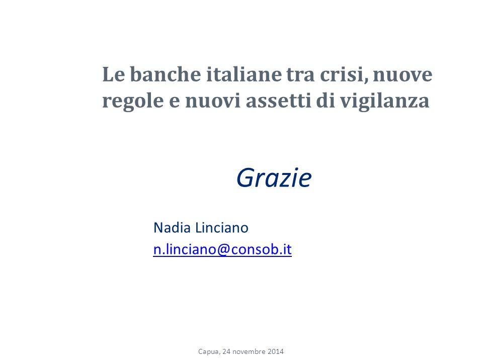 Le banche italiane tra crisi, nuove regole e nuovi assetti di vigilanza