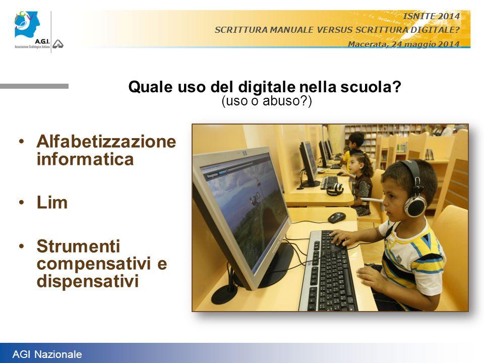 Quale uso del digitale nella scuola (uso o abuso )