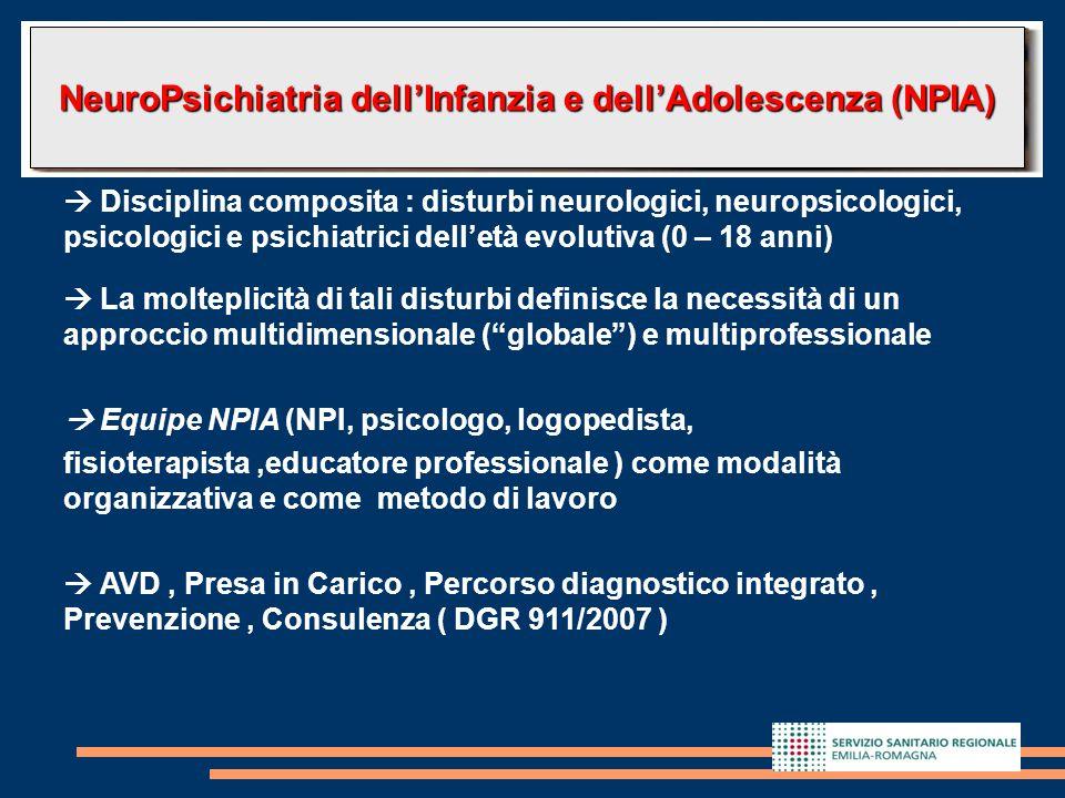 NeuroPsichiatria dell'Infanzia e dell'Adolescenza (NPIA)