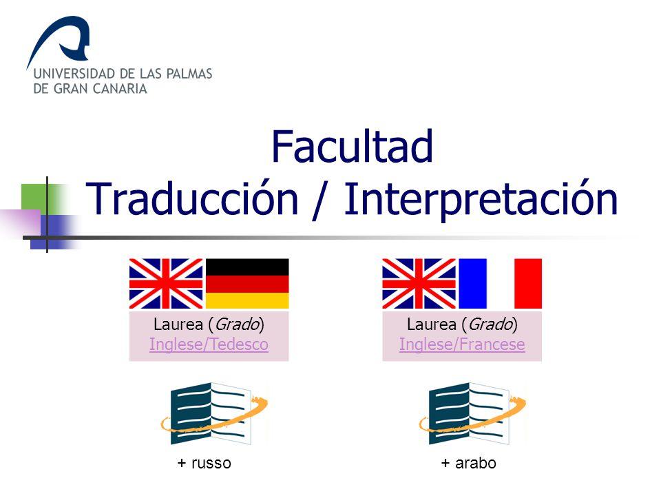 Facultad Traducción / Interpretación