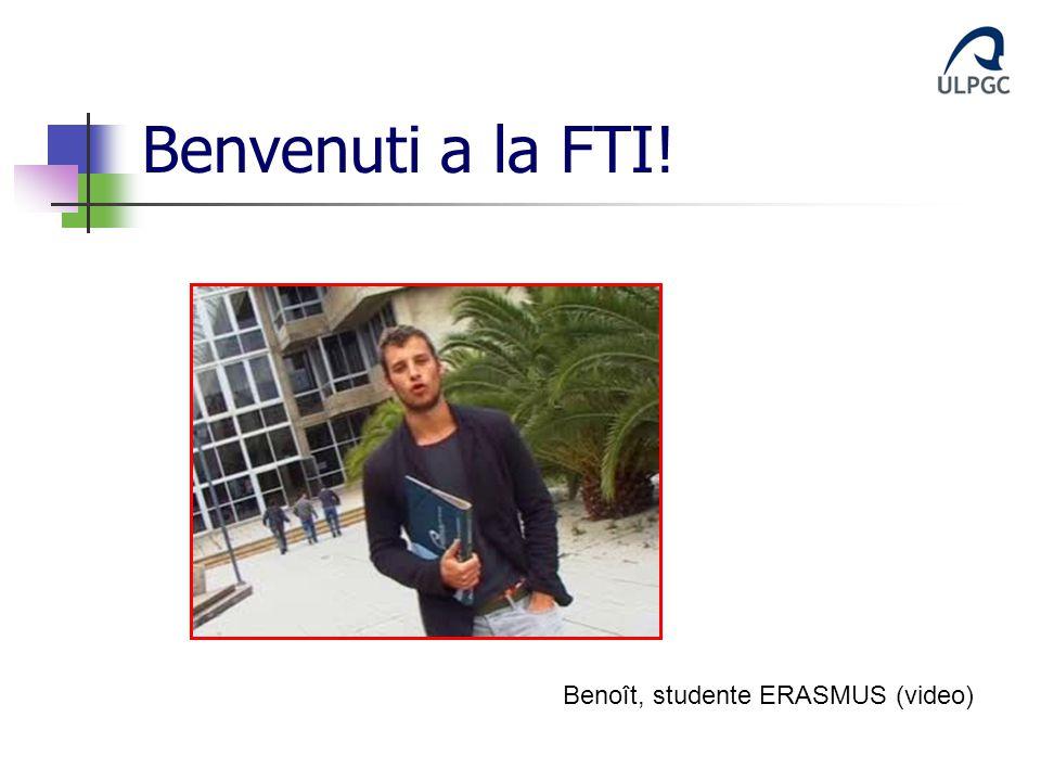 Benvenuti a la FTI! Benoît, studente ERASMUS (video)