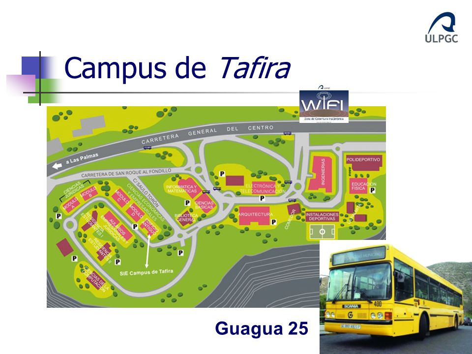 Campus de Tafira Guagua 25