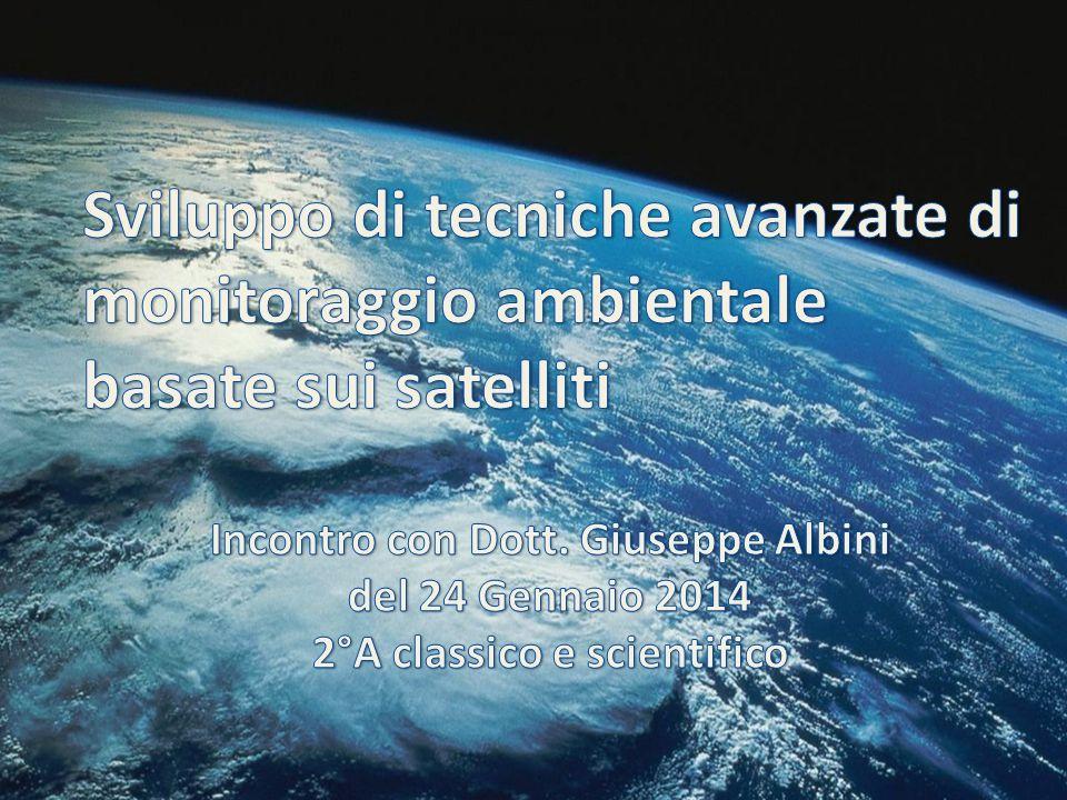 Sviluppo di tecniche avanzate di monitoraggio ambientale basate sui satelliti
