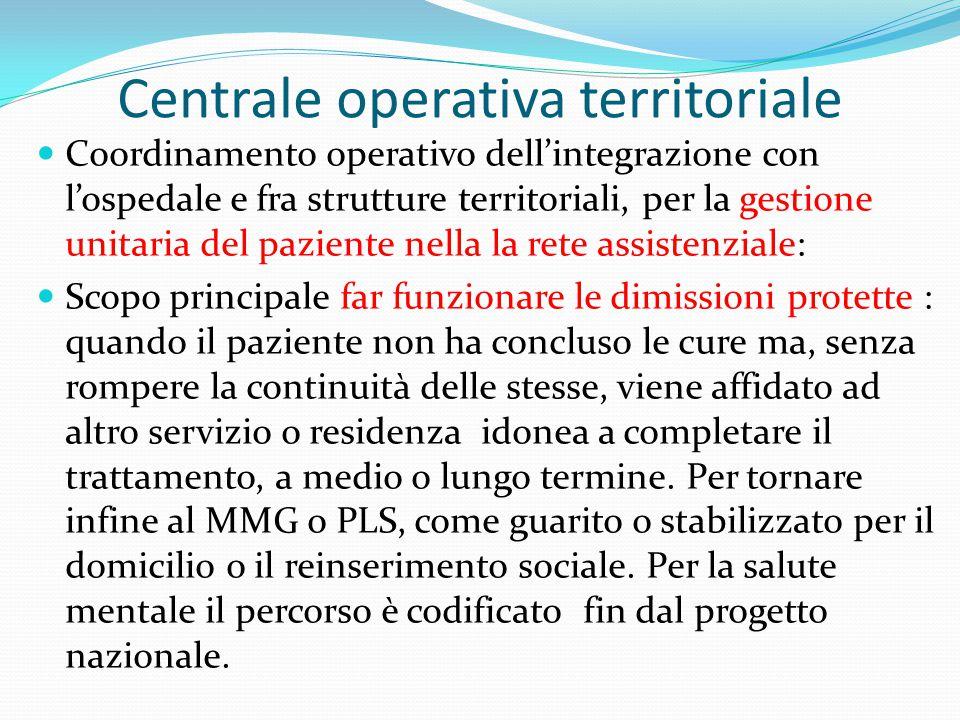 Centrale operativa territoriale