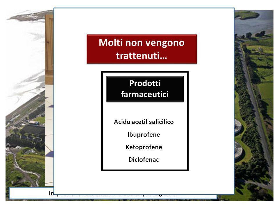 Composti industriali Molti non vengono trattenuti…