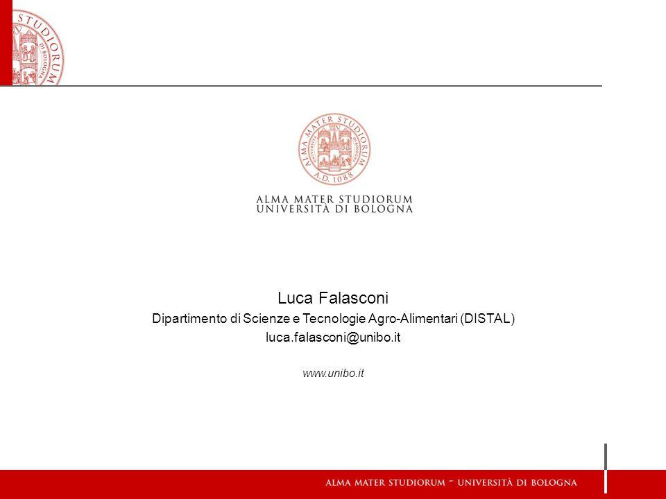 Dipartimento di Scienze e Tecnologie Agro-Alimentari (DISTAL)