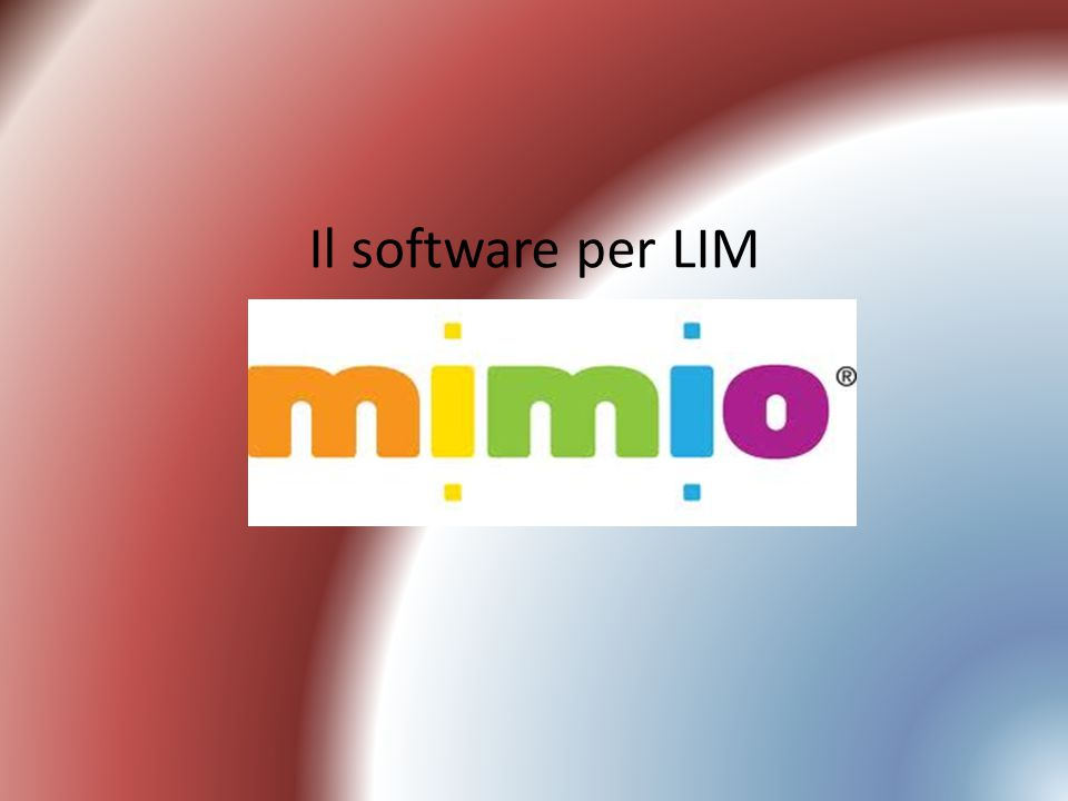 Il software per LIM