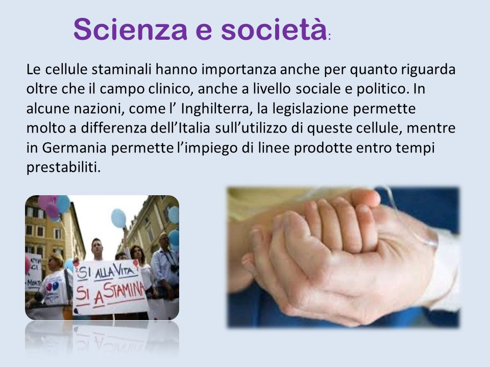 Scienza e società: