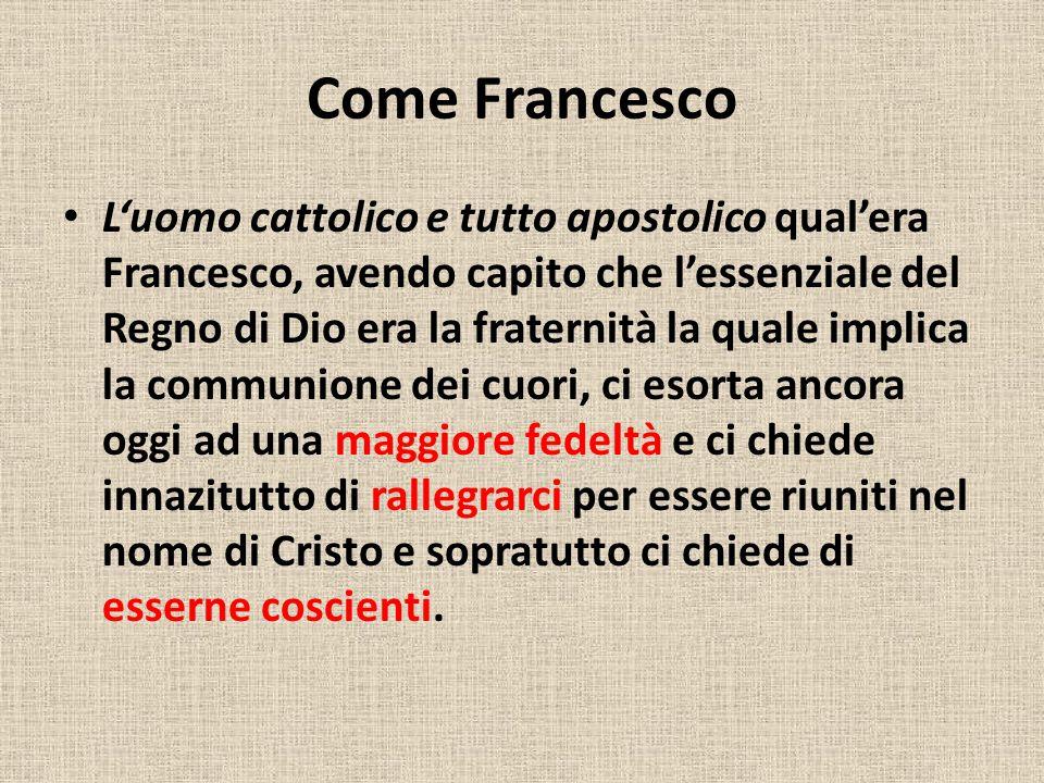 Come Francesco