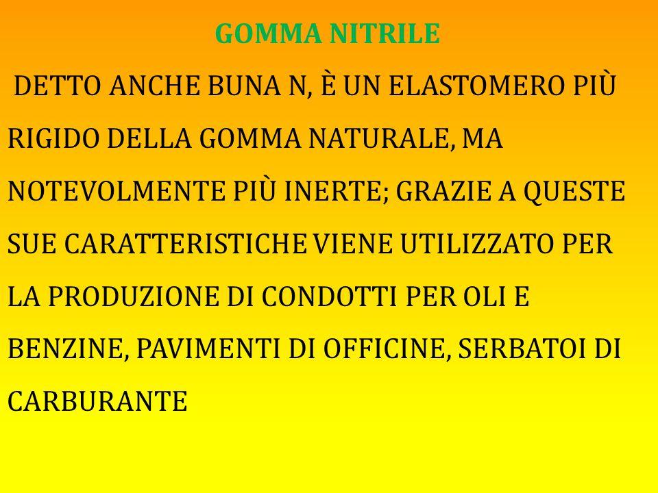 GOMMA NITRILE