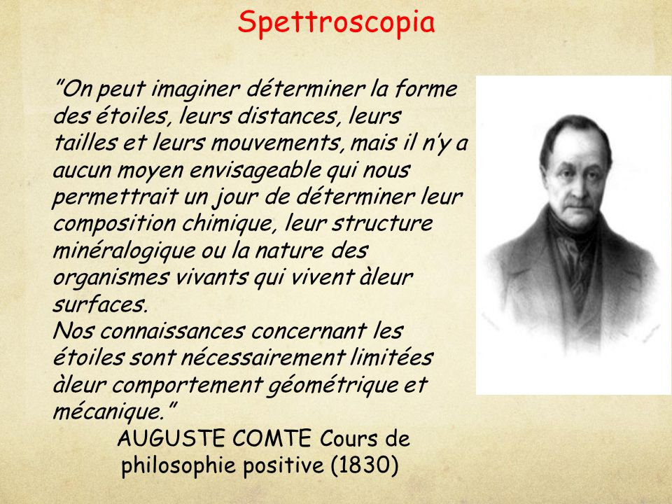 AUGUSTE COMTE Cours de philosophie positive (1830)