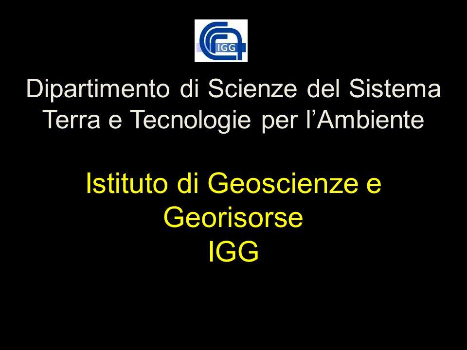 Dipartimento di Scienze del Sistema Terra e Tecnologie per l'Ambiente