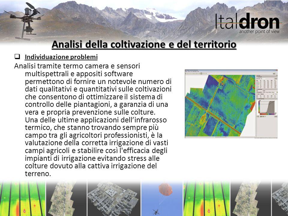 Analisi della coltivazione e del territorio