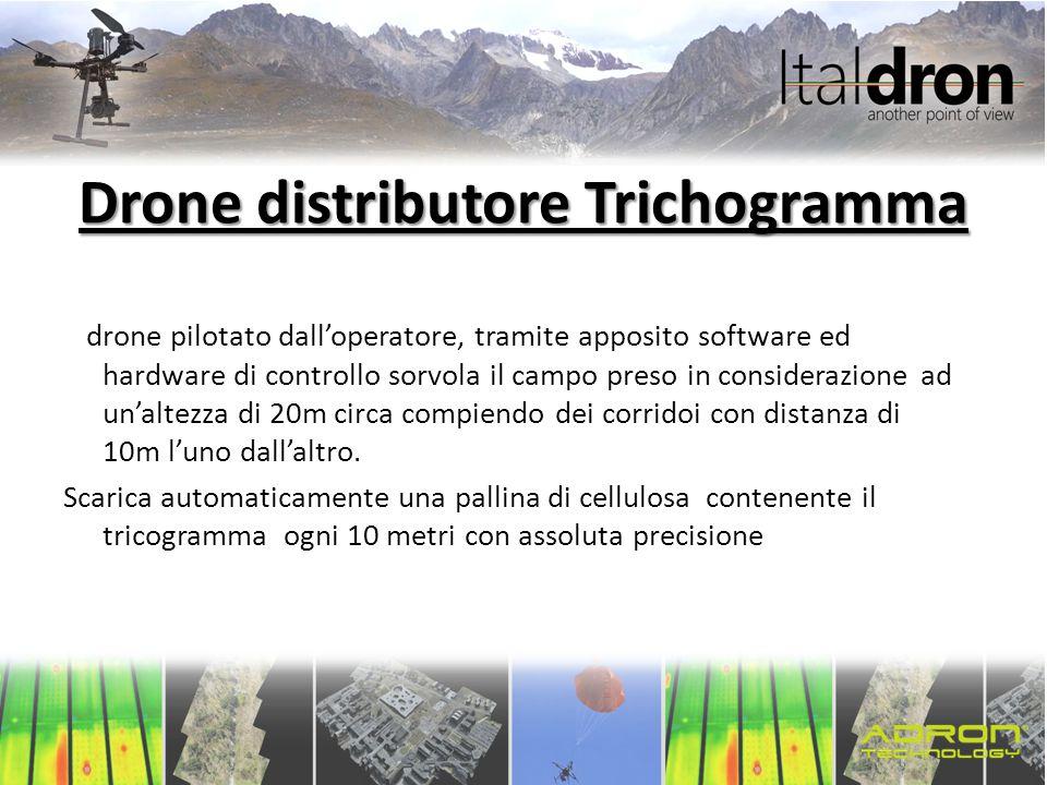 Drone distributore Trichogramma