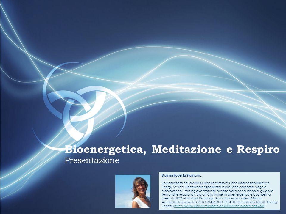 FGKGJS Bioenergetica, Meditazione e Respiro Presentazione