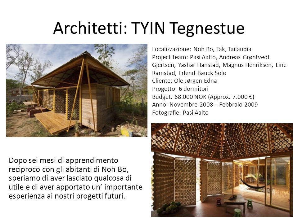 Architetti: TYIN Tegnestue