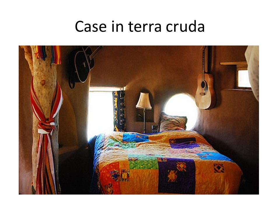 Case in terra cruda