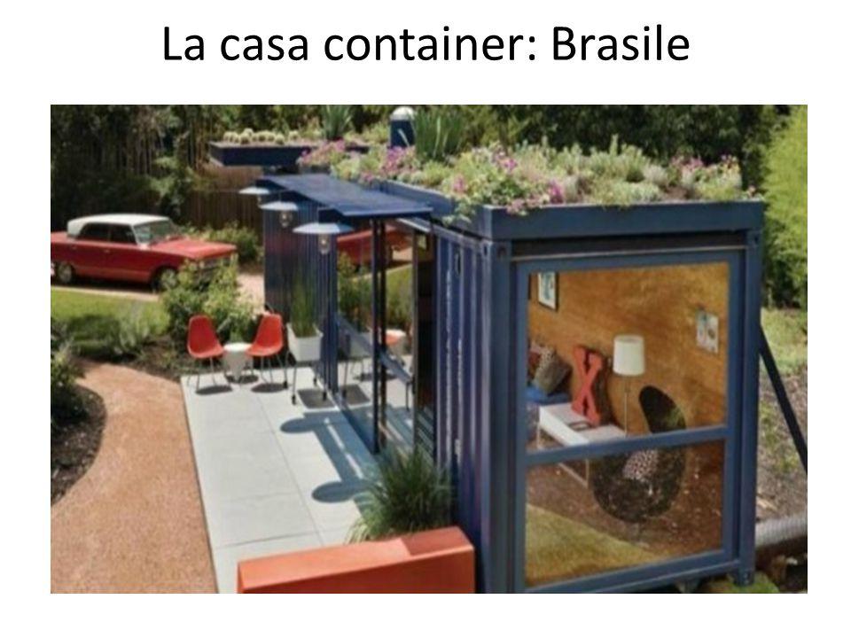 La casa container: Brasile