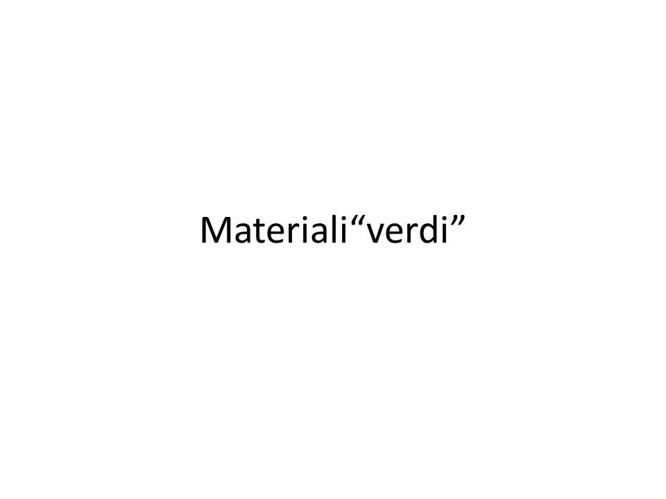 Materiali verdi