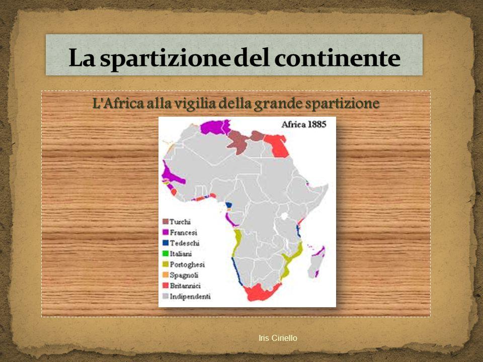 La spartizione del continente