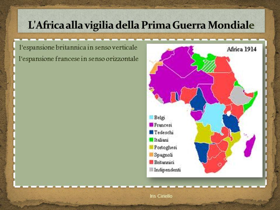 L Africa alla vigilia della Prima Guerra Mondiale