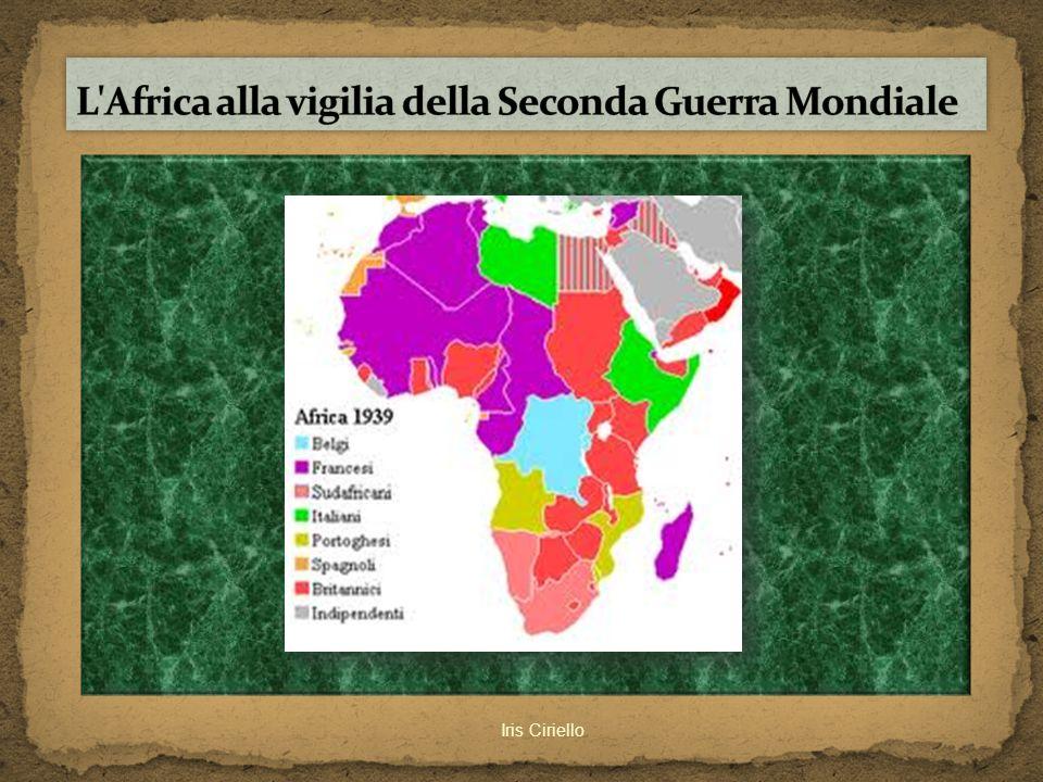 L Africa alla vigilia della Seconda Guerra Mondiale