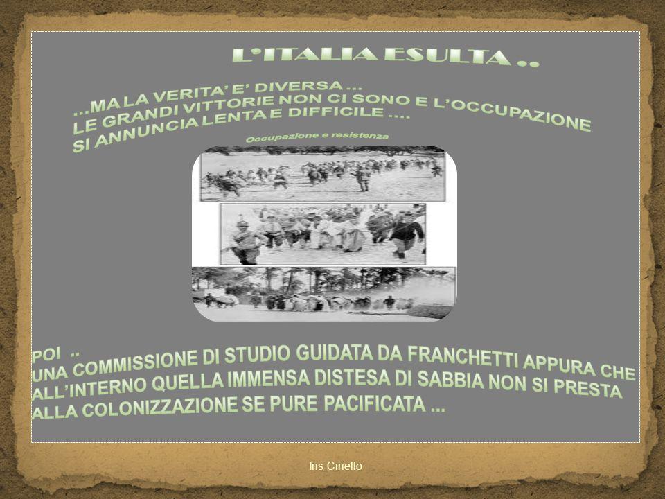L'ITALIA ESULTA .. ...MA LA VERITA' E' DIVERSA ...
