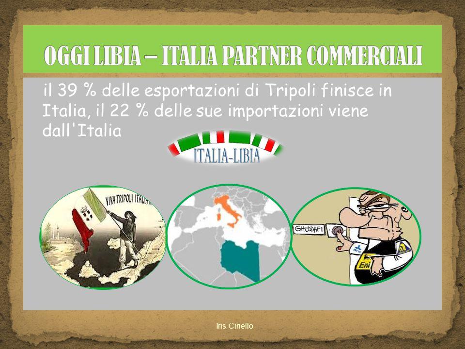 OGGI LIBIA – ITALIA PARTNER COMMERCIALI