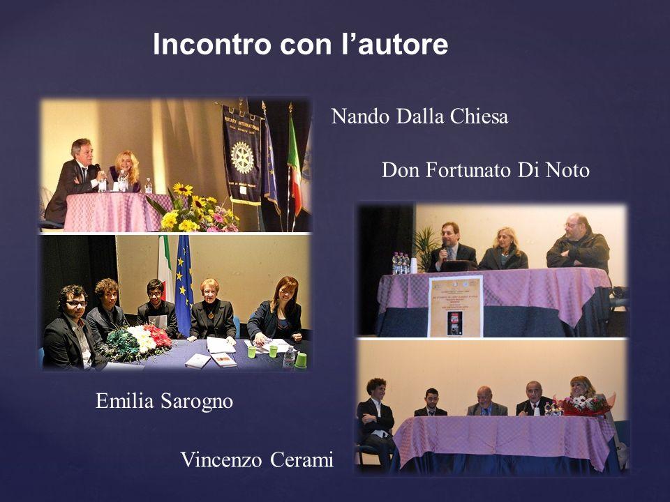 Incontro con l'autore Nando Dalla Chiesa Don Fortunato Di Noto