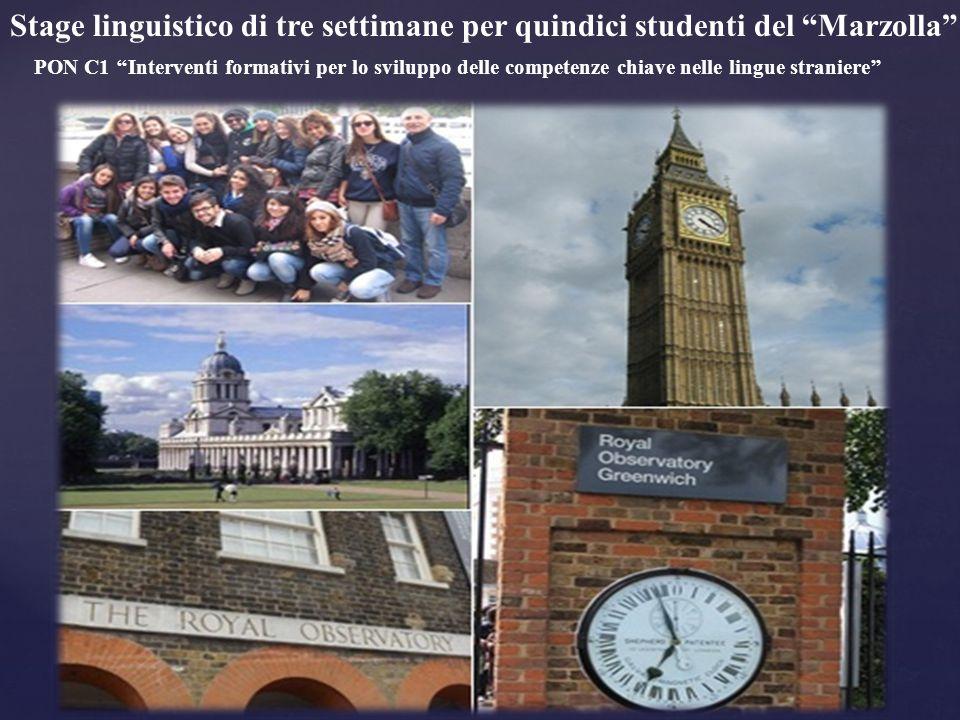 Stage linguistico di tre settimane per quindici studenti del Marzolla